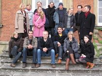 The participants of IJP's George Weidenfeld Bursary 2009