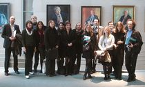 The participants of IJP's George Weidenfeld Bursary 2007 in the Federal Chancellery in Berlin.