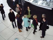 Participants of the 2006 Conference visiting the German Parliament Building in Berlin.