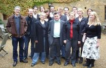 The participants of The George Weidenfeld Bursary 2005 at Bailiffscourt House, West Sussex.