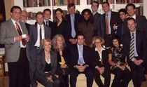 The participants of IJP's George Weidenfeld Bursary 2006 the British Residence in Berlin.