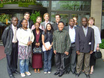 Participants of the Southern African-German Programme 2007