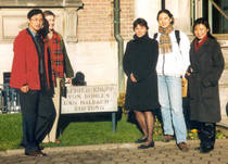 Participants of the Asia-Pacific Programme at the Krupp Foundation December 2003