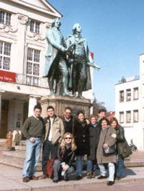 Internationale Journalisten Programme, Lateinameriaka-Programm, Latinos in Weimar 2001