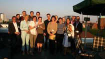Participants 2007 on the roof of the Dutch embassy