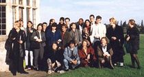 Participants of the British-German Journalists' Programme 1998 in Wilton Park (Sussex).